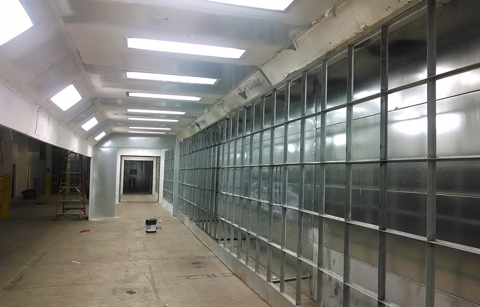 Nc Custom Spray Booths Amp Ovens Insulated Metal Wall Panels